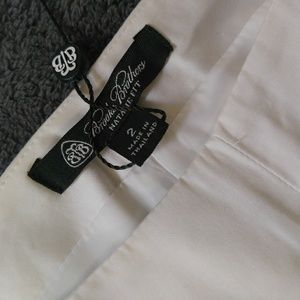 Brooks brothers white pants size 2